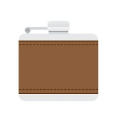 flask for alcohol vector image