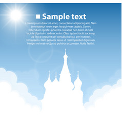 Kremlin world sightseeing collection vector