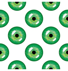 Seamless abstract pattern with pupils of the eyes vector