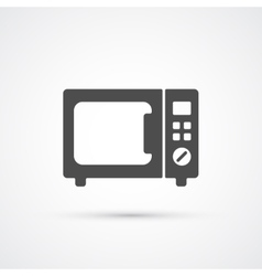 Microwave trendy icon vector image vector image