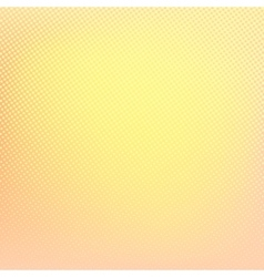 Yellow background abstract halftone pattern vector
