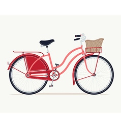 Vintage Bike Icon vector image