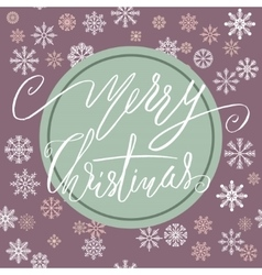 Green and purple christmas background with vector
