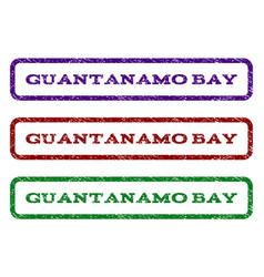 Guantanamo bay watermark stamp vector
