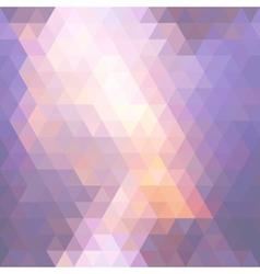 Sunset mosaic vector image