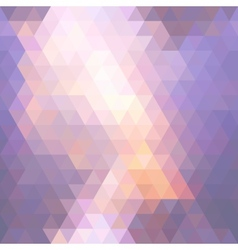 Sunset mosaic vector image vector image