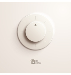 Volume switch EPS10 vector image