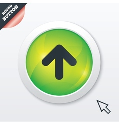 Upload sign icon upload button vector