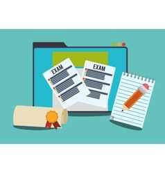 Elearning and education design vector