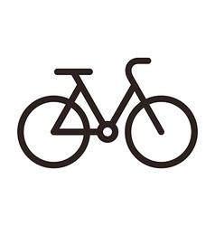 Bike symbol vector