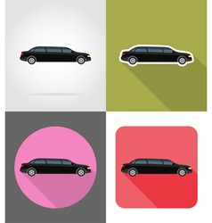 transport flat icons 44 vector image vector image