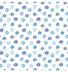 Watercolor christmas seamless pattern set for vector image vector image