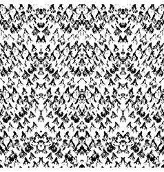 Snake skin pattern made with brushstrokes vector