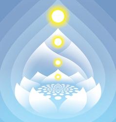 Buddha 3 vector