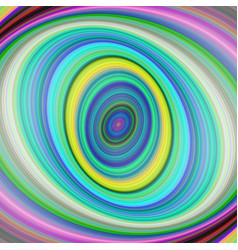 Colorful elliptical digital fractal art background vector