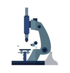 microscope test equipment laboratory study vector image