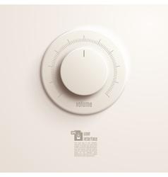 Volume switch eps10 vector