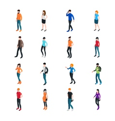 Modern Society Template vector image