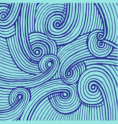 Abstract background of doodle hand drawn lines vector