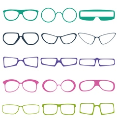 Glases vector