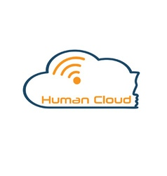 human cloud concept vector image vector image