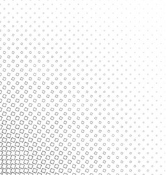Monochrome geometric angular square pattern vector image vector image