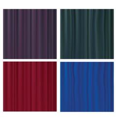 silk textures vector image
