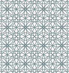 Pattern seamless ornament vector image