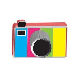 Camera 3d vector