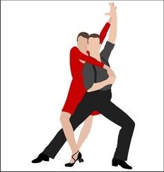 Tango dancers 4 vector