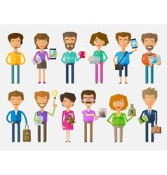 teamwork logo design template office or vector image vector image