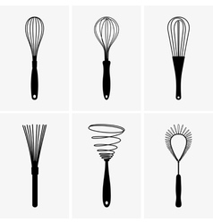 Whisks vector image vector image
