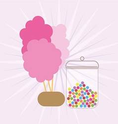 Candy design vector