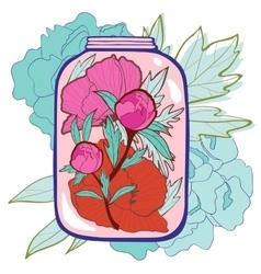 Concept love card vector