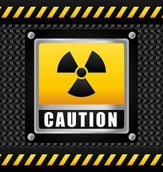 Danger design vector image