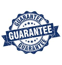 Guarantee stamp sign seal vector