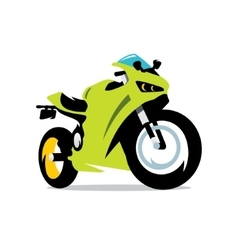 Motorcycle cartoon vector