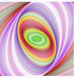 Multicolored elliptical fractal art background vector