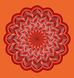 Rosette vector image vector image