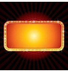 Retro Sign Design vector image