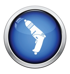 Icon of electric drill vector