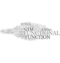 Functional word cloud concept vector
