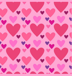 Heart shape love symbol seamless pattern vector
