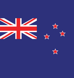 New zealand flag for independence day and vector