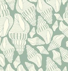 Seashell14 vector image vector image