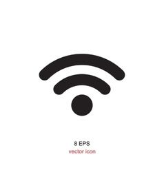 Wi-Fi Icon Isolated vector image