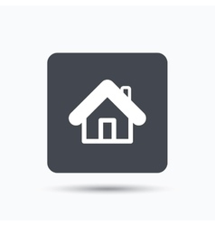 Home icon house building sign vector