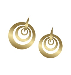 An earring vector