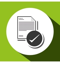 Document design data icon information concept vector