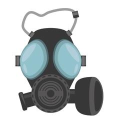 Gas mask respiration protective vector